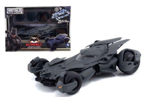New 124 Batman V Superman Movie - Matte Black Batmobile Model Kit Metals Diecast Model Car By Jada Toys by Jada