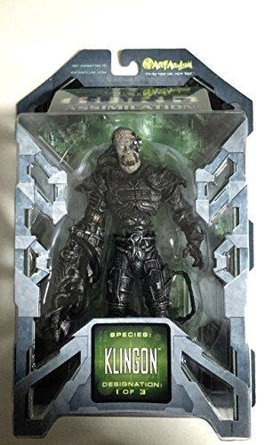 7 Star Trek Borg Assimilation Klingon Action Figure by Art Asylum parallel import goods