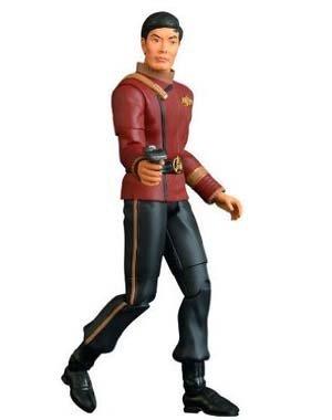 Star Trek II The Wrath of Khan 25th Anniversary SDCC Exclusive Commander Sulu Action Figure by Art Asylum