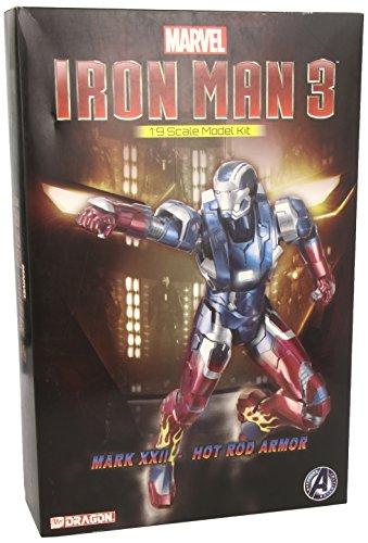 Dragon Models Iron Man 3 - Mark XXII - Hot Rod Armor Model Kit 19 Scale
