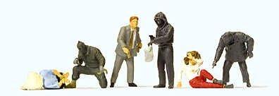 Preiser 10588 Robbery H0 scale 187 by Preiser