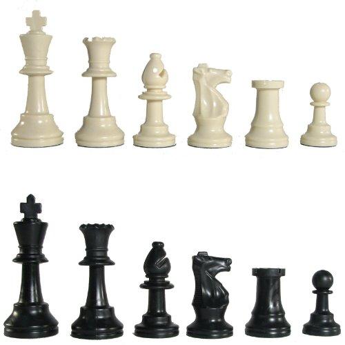 Dreamanor 3 34 Tournament Plastic Chess Pieces