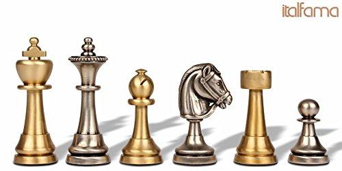 Staunton Brass Chess Set