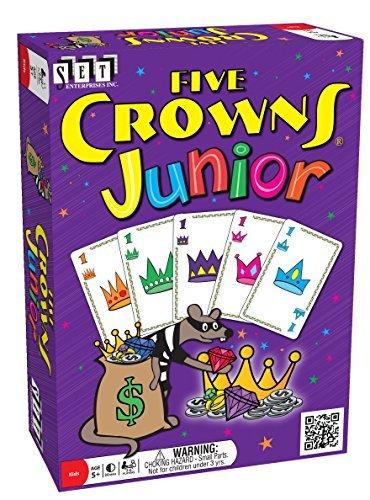 Five Crowns Junior Kids style rummy by SET Enterprises