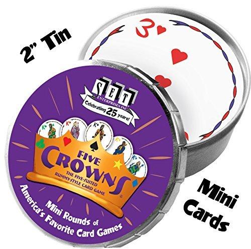 Five Crowns Mini Round Card Game by SET Enterprises