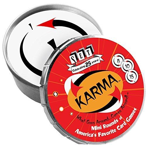 Karma Mini Round Card Game by SET Enterprises