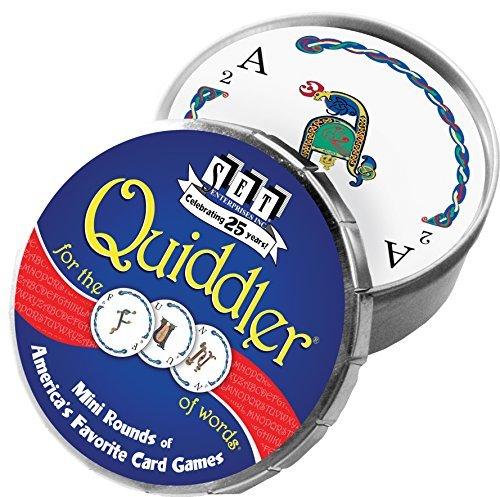 Quiddler Mini Round Card Game by SET Enterprises