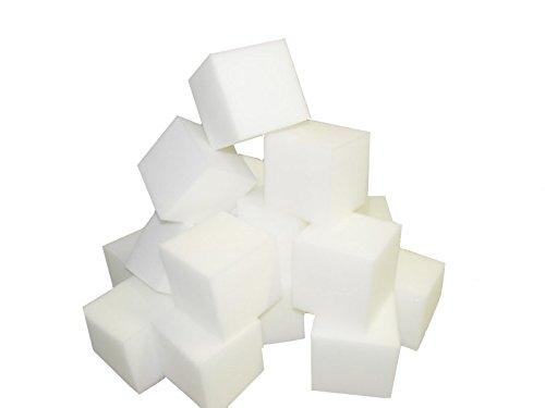 Foam Pits BlocksCubes 1000 pcs White 4x4x4 1536 Flame Retardant Pit Foam Blocks For Skateboard Parks Gymnastics Companies and Trampoline Arenas