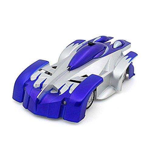 toy carsChildrens toys electric remote control carWall climbing cardual-wall climbing car Feiyanzoubi Spider-Manbluen