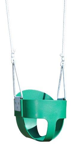 Bucket Toddler Swing Rope Green