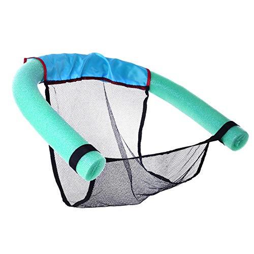 Nicknocks 60 x 150cm Floating Chair Pool Noodle Foam Net Floating Armchair Children Swim Aid Water Noodles Swimming Gear