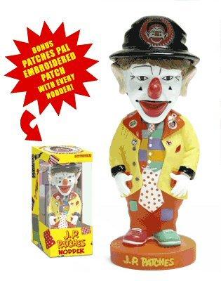 JP Patches Clown Nodder Bobblehead Doll