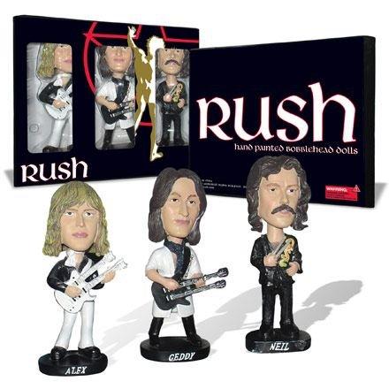 Rush Bobblehead Dolls