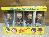 The Monkees Wacky Wobblers bobble-head dolls set