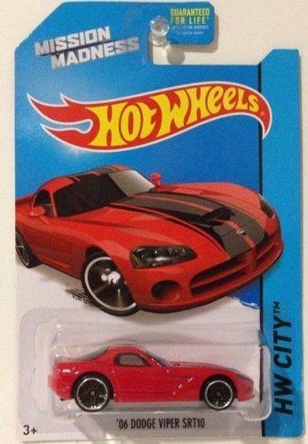 2014 Hot Wheels 06 Dodge Viper SRT10 Red Scavenger Hunt Mission Madness by Hot Wheels