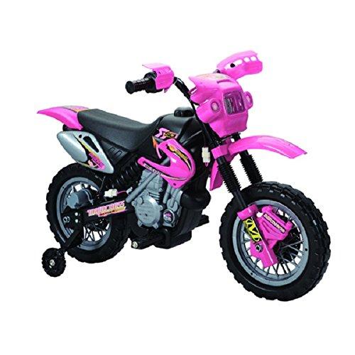 Fun Wheels 6V Battery Operated Motorbike Pink