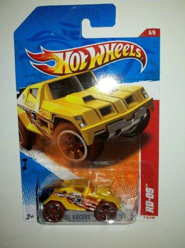 Mattel Hot Wheels 66 THRILL RACERS - JUNGLE 11 Yellow RD-05 216244