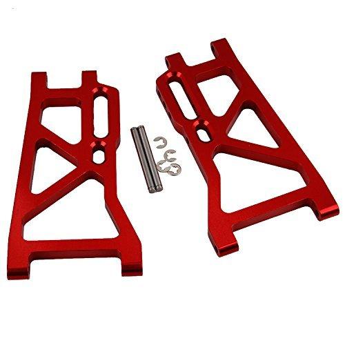 Yiguo 2pcs Aluminium 513008 Rear Lower Suspension Arm for FS RC 110 Truck Model Car Upgrade Red
