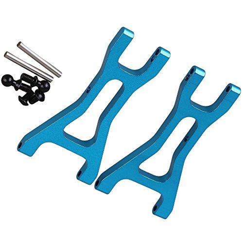Yiguo 2pcs Aluminium Alloy A580020 Rear Suspension Arm for 118 WL A959 A969 A979 k929 RC Car Blue