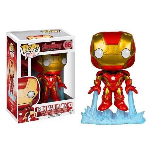 Avengers Age of Ultron Iron Man Pop Vinyl Bobble Head Figure