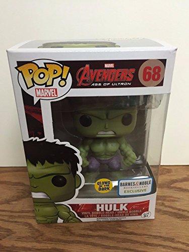 HULK 68 Avengers Age of Ultron GLOW N DARK Barnes n Noble EXCLUSIVE Funko Pop Vinyl Bobblehead