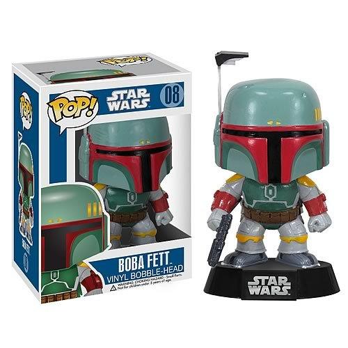 Star Wars Boba Fett Pop Vinyl Bobble Head Action Figure