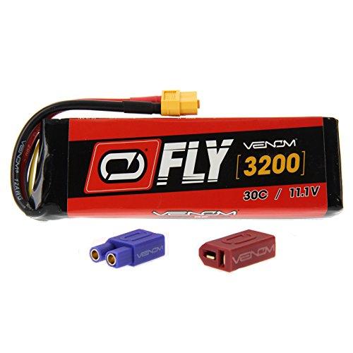 E-flite Ultimate 2 30C 3S 3200mAh 111V LiPo Battery with UNI 20 plug by Venom Compare to E-flite EFLB32003S