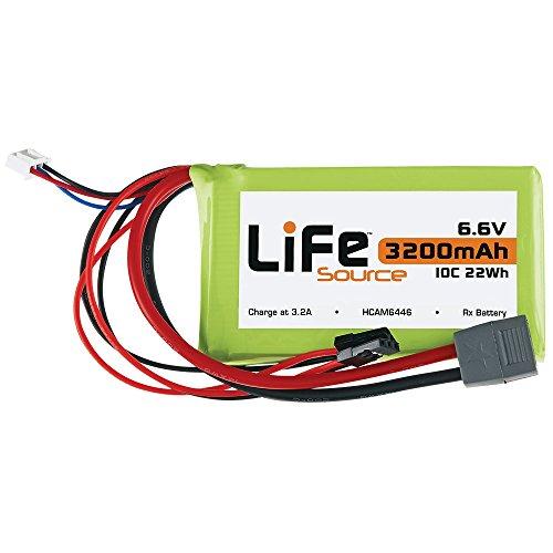 LiFeSource LiFe 66V 3200mAh 10C Rx U Connector
