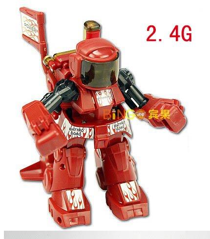 24G BATTROBORG 20 Remote Control Boxing Robot RC red ROBOTS RTDGWJ03R