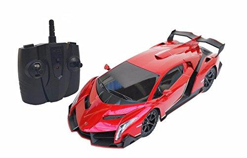 24Ghz 118 Scale Lamborghini Veneno Car Radio Remote Control Sport Racing Car RCRed