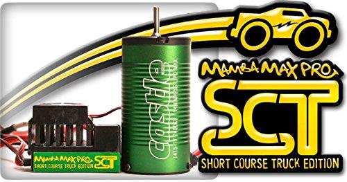 Castle Creations 010-0091-00 Mamba Max Pro SCT Combo with 1415-2400KV Motor 25V ESC