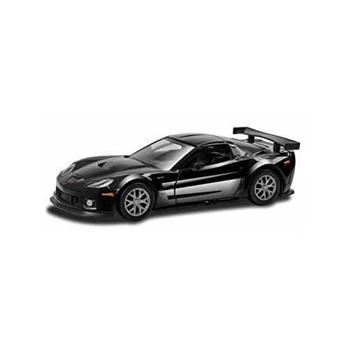 Remote Control RC Corvette Racing Car C6R 124 Quick Speed Exceptional Detail - Black