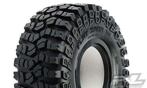 ProLine 1011514 Flat Iron 2XL G8 Rock Terrain Truck Tires with Memory Foam 2 Piece