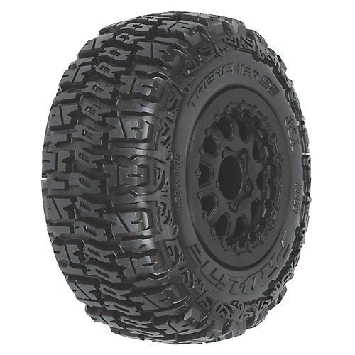 Proline 115913 Trencher SC 2230 M2 Tires Mounted Renegade Medium Black