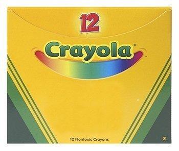 Crayola Single Color Crayon 12 Count Box Black no BIN83651