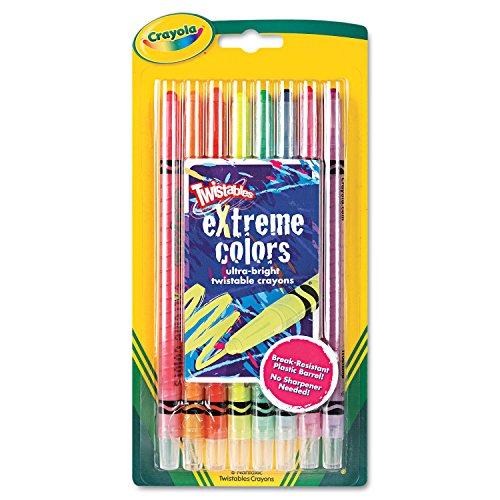 Crayola Twistables Extreme Color Crayons-8Pkg