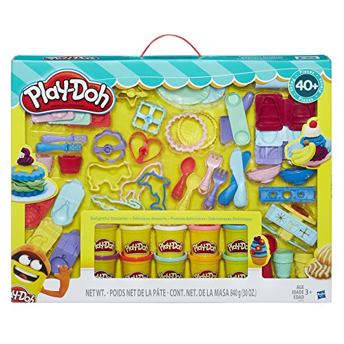 Play-Doh Delightful Desserts Set 40 Piece Set