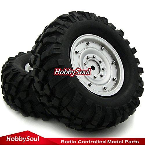 RC 110 19 96mm Crawler Tires Tyres Wheels for Axial RC4WD Tamiya cc01 F350 rc4wd 2pcs