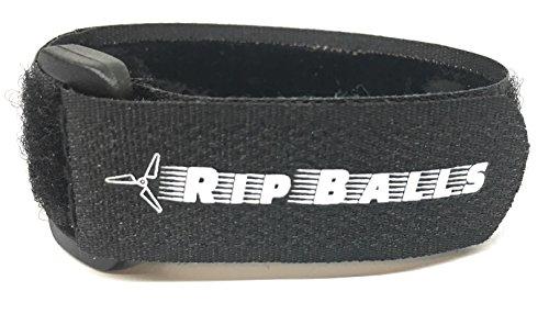 Rip Balls Lipo Battery Strap w Non-Slip Coating 5 Pack - 20mm x 250mm