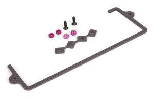 Schumacher Racing Carbon Fiber LiPo Battery Strap Locator Set