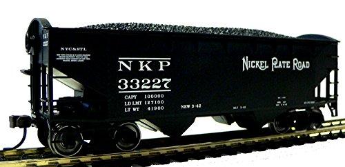 HO Scale Nickel Plate Road Coal Hopper for Model Railroad Trains 33227