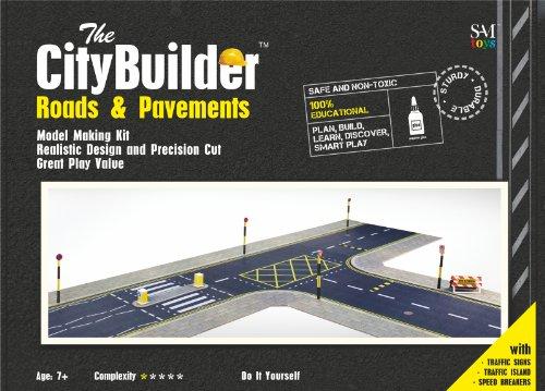 O gauge 7mm 148 scale Model Railroad ROADS PAVEMENTS Kit The CityBuilder