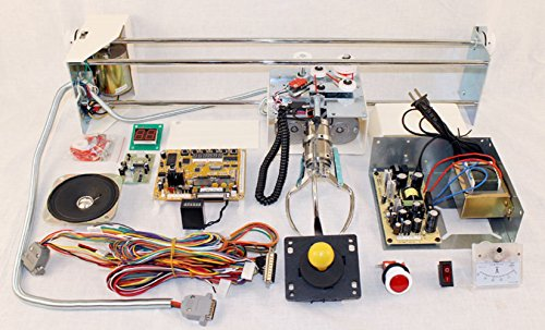 Crane Machine Kit with All Components and Manual Build Your Own Arcade Crane Machine
