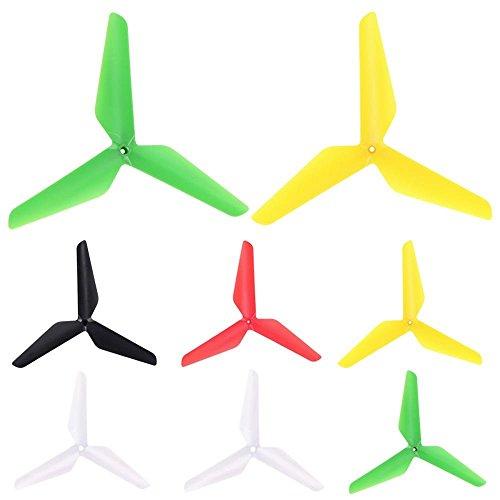 8PCS For Syma X5C X5A X5SC X5SW X5C-1 Upgrade 3-leaf Propellers Blade Part
