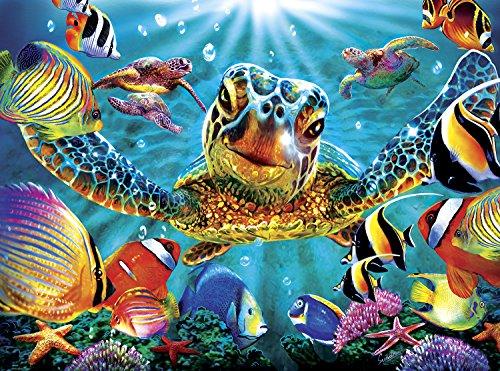 Buffalo Games - Marine Color - Tiny Bubbles - 1000 Piece Jigsaw Puzzle