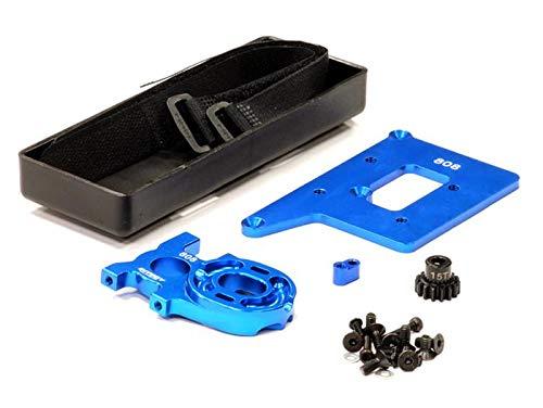 Integy RC Model Hop-ups C23867BLUE Brushless Conversion Kit for Xray 808 wPinion Gear