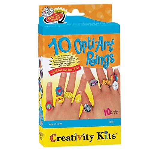 Creativity For Kids Activity Kit Opti Art Rings