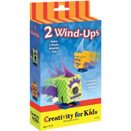 Creativity For Kids CK-1450 2 Wind-Ups Activity Kit