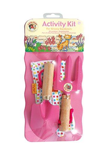 Tierra Garden 7-LP111 Little Pals Kids Activity Kit Pink