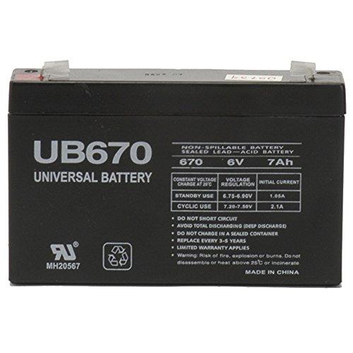 6V 7Ah SLA Battery Replacement for Rastar Lamborghini Aventador LP700-4